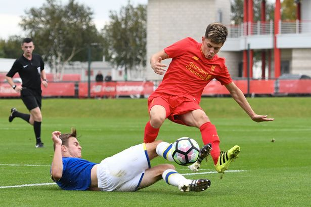 Liverpool U18s destroyed by Everton in first mini-derby of the season