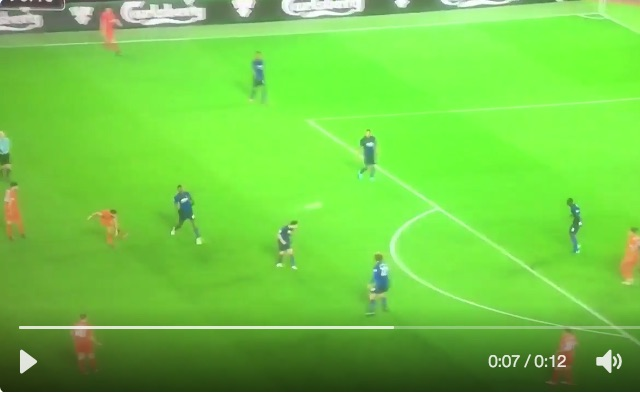 (Video) Proof Martin Tyler is biased: Audibly petrified by Coutinho's 30-yarder