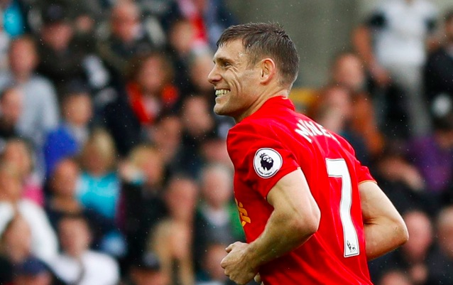 Amazing James Milner coincidence emerges from Liverpool's League Cup Draw