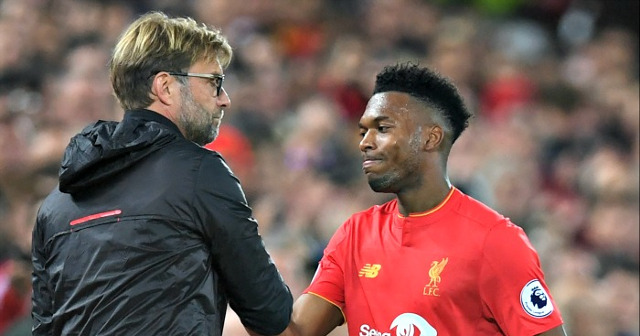 Jurgen Klopp hints at start for Daniel Sturridge; expresses '100%' trust in him