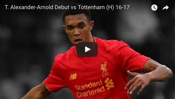 (Video) Watch Alexander-Arnold's lung-busting debut in 4 impressive minutes