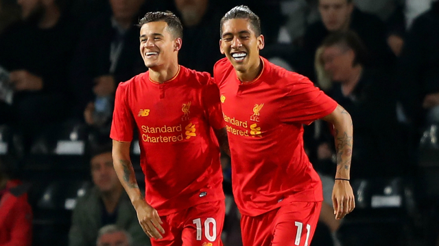 (Video) Coutinho scores another beauty in front of Anfield Road End