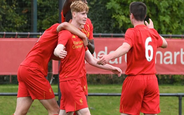 Liverpool U18s slowly improving: record back-to-back wins