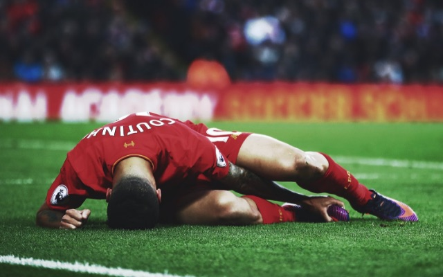 (Image) Horrible snap of Coutinho's injury goes viral