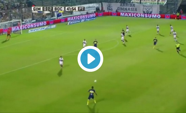 (Video) Watch quality highlights clip of Cristian Pavon; Liverpool's Argentine wing target