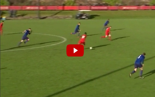 (Video) Dhanda's U-18 strike is the perfect Klopp goal; Liverpool's youngsters learning fast