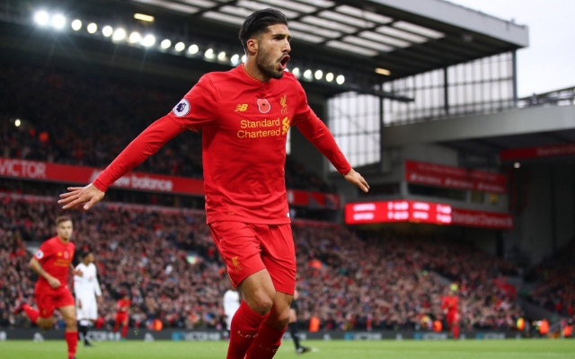 (Video) Emre Can proves his quality as he recreates famous Premier League wonder-goal