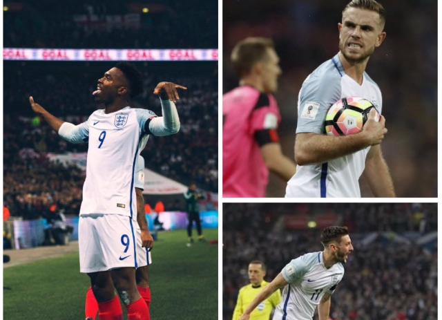 (Video) Liverpool fans: Watch Lallana & Sturridge's England goals, here