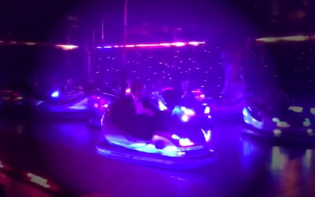 (Video) Jurgen Klopp labelled 'maniac' on dodgems at Charity Ball