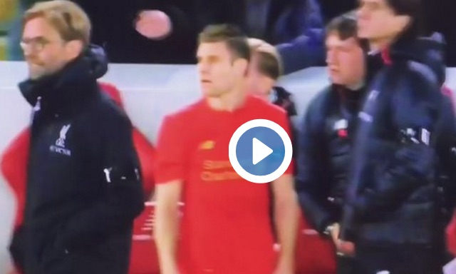(Video) Milner & Klopp's reaction to Woodburn's goal is absolutely quality