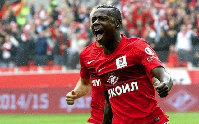Spartak Moscow have just signed Quincy Promes replacement; Liverpool transfer looking likely