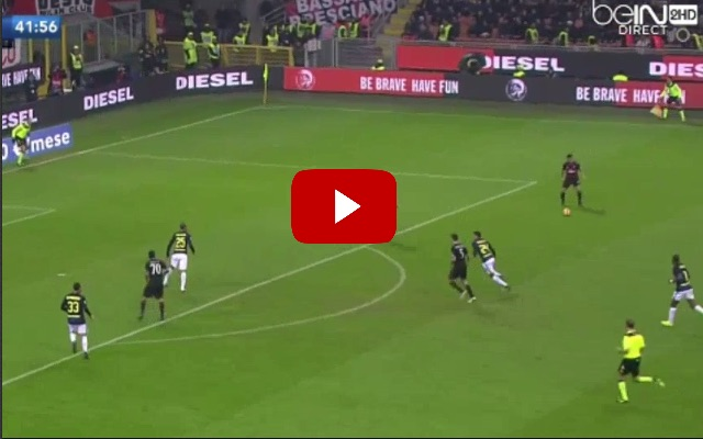 (Video) Suso scored a stunner in Milan derby for AC with his trademark skill