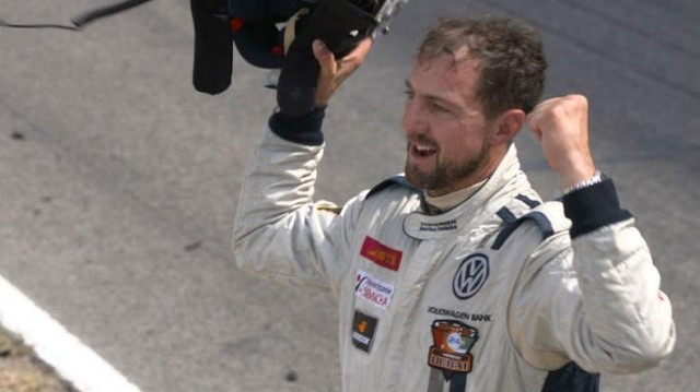 From Istanbul hero to racing car driver- how one former Red found himself a new passion