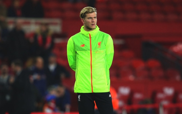 Gutted Karius Caught Crying On Liverpool's Bench Behind Klopp