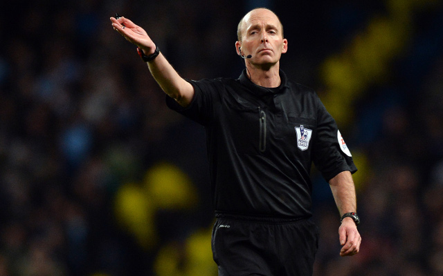 (Video) Mike Dean drops 'No-look Yellow-Card' & then flair dummy during debut Merseyside Derby