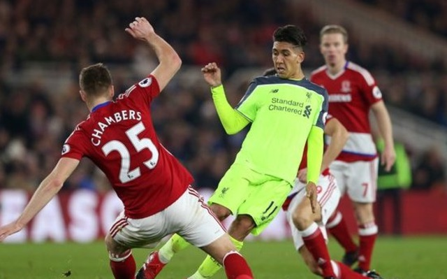(Video) Firmino's unreal jinking run v Boro everyone has forgotten about