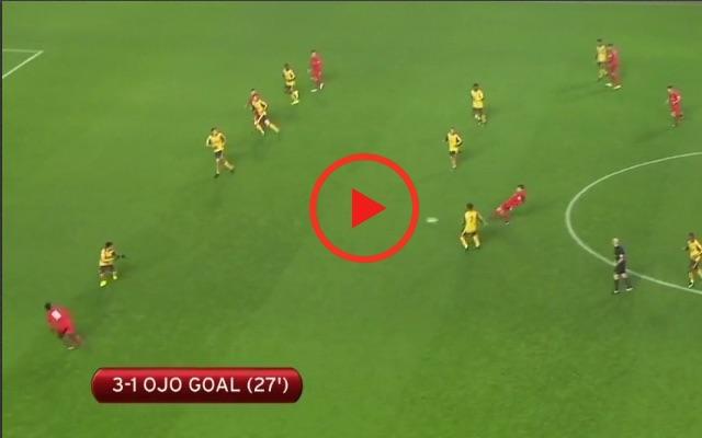 (Video) Sheyi Ojo bags beauty as Liverpool U23s beat Spurs 3-2