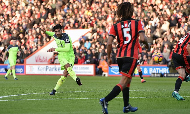 The brilliant reaction from fans towards spectacular goal during devastating loss to Bournemouth