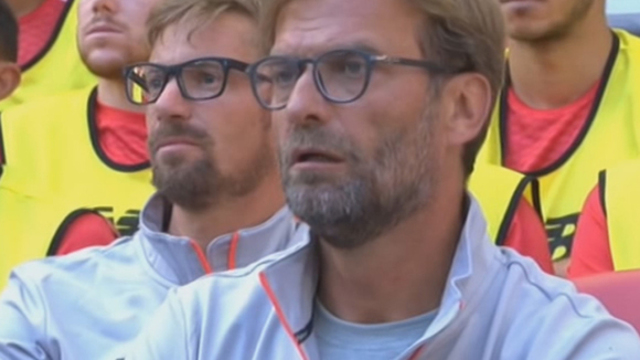 BBC shockingly think Kornmayer is a Klopp-lookalike following Liverpool's manager around