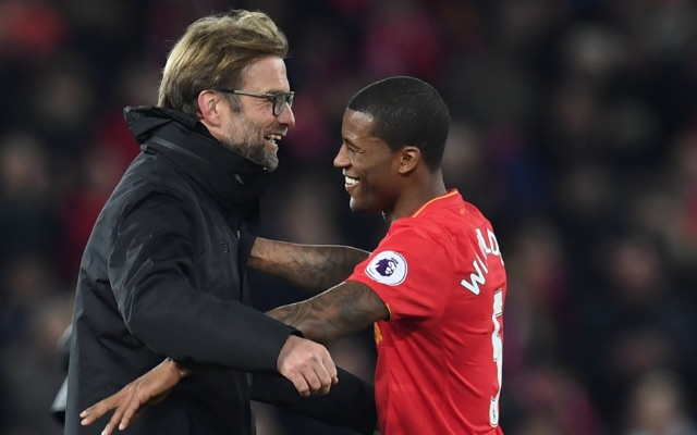 Gini Wijnaldum explains how Klopp's simple half time message helped him score