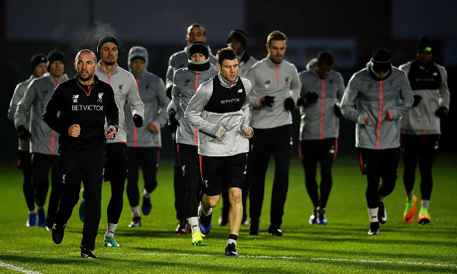 Star duo nowhere to be seen in training as Reds prepare for Southampton clash