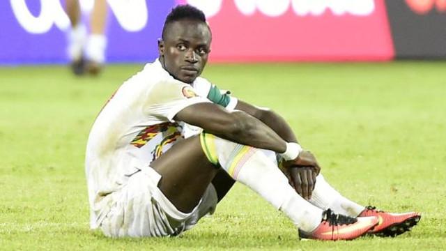 (Video) Sadio Mane with soul destroying reaction to Senegal's AFCON elimination