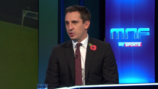 Gary Neville lauds Liverpool fans after the Reds' 2-1 win over Spurs