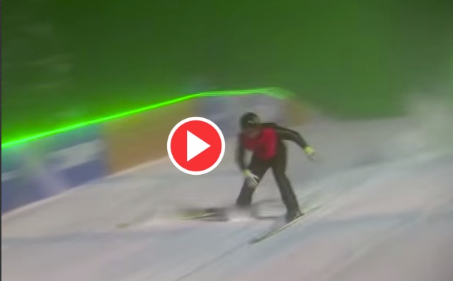 (Video) Robbie Fowler suffers epic crash on The Jump, but God walks away unscathed