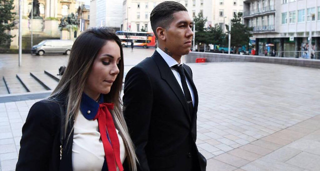 Roberto Firmino recieves ban over drink-driving charge