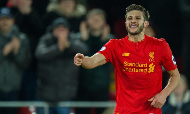 Adam Lallana with some valuable advice for Liverpool's youth stars to consider