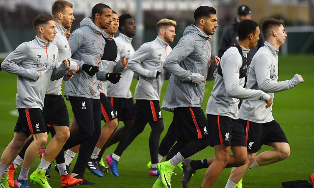 Key Liverpool man worryingly missing from pre-Leicester training photos