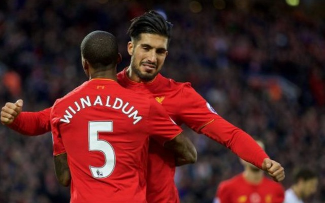 Liverpool boss slams his abject midfield, not the defence