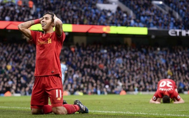 Roberto Firmino did not celebrate Lallana's miss too early; was on knees in despair