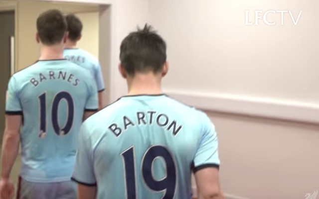 (Video) Tunnel-cam shows Joey Barton gobbing on floor and cursing after Liverpool loss