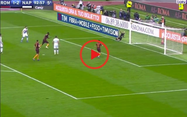 (Video) Pepe Reina's 'save of the season' contender earns Napoli 3 points v Roma