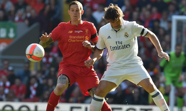 (Video) Agger rolls back the years with textbook last-ditch tackle on ex-Real Madrid forward