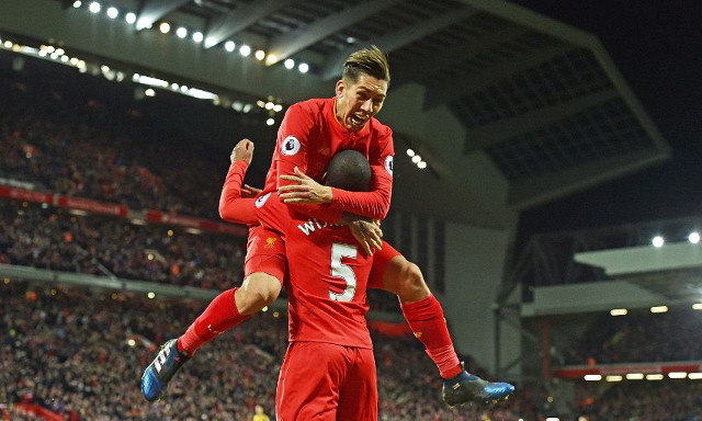 Liverpool players rejoice on social media following emphatic Arsenal win