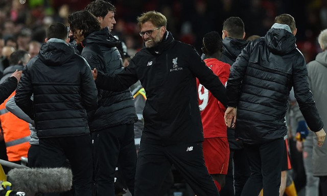 (Video) 'Klopp-cam' captures the manager's priceless goal celebrations