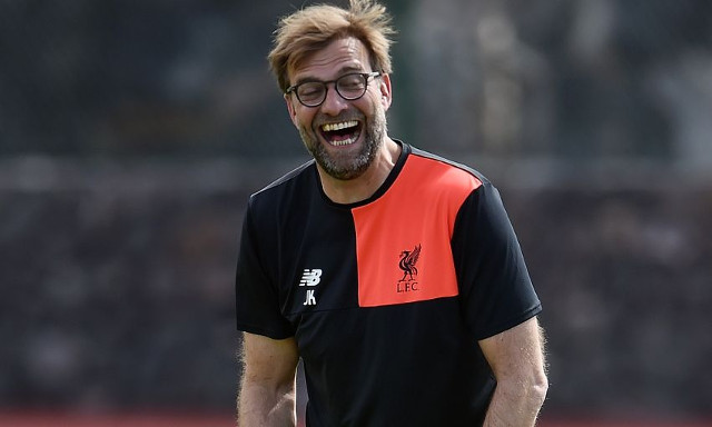 Klopp: We can all train naked because of Mo Salah