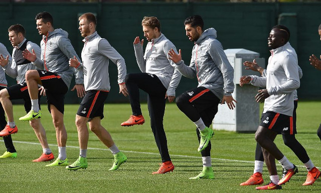 (Image) Setback for Liverpool as key starter misses pre-Burnley training; labelled a 'major doubt'