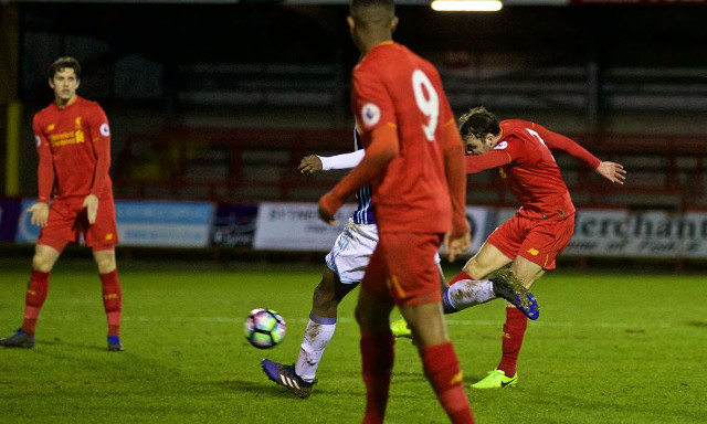 (Video) Connor Randall scores last minute winner for U23s with powerful long-range strike