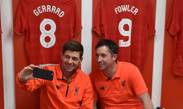 Ex-Liverpool stars express their delight on social media after legends game