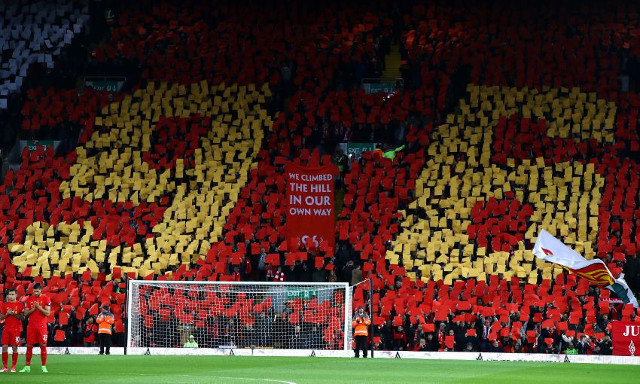 Football fans unite to mark 28th anniversary of Hillsborough with heartfelt tributes to the 96