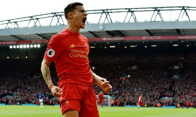 (Video) Philippe Coutinho scores absolute stunner against Leicester