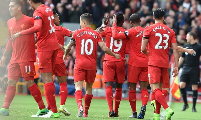 'No better feeling'- LFC stars celebrate emphatic derby win and prove they know how much it means