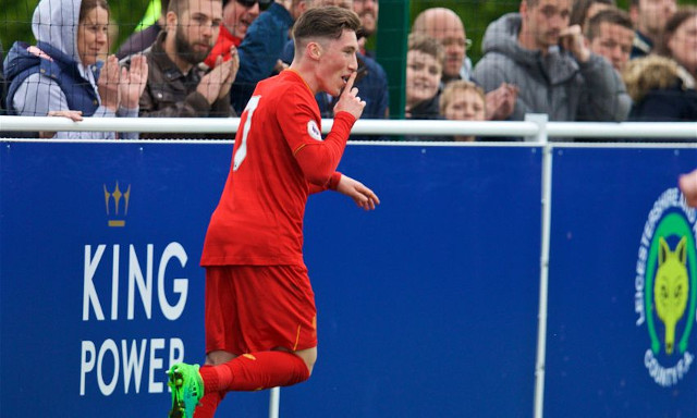 (Video) 28-goal Harry Wilson on fire again as Liverpool's U23s beat Leicester