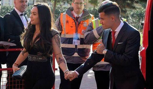 Philippe Coutinho Wife Aine