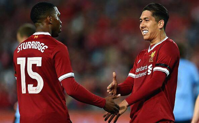 (Video) Firmino nets Liverpool's third after superb Sturridge build up play