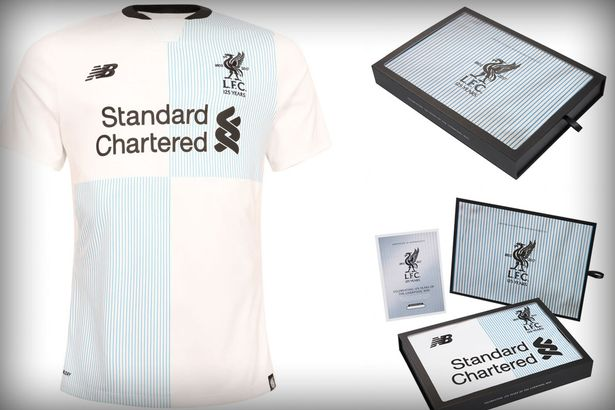 Liverpool release special edition £100 blue & white kit