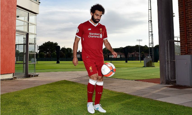 Liverpool newboy Mohamed Salah eyes up silverware as he promises his 100%